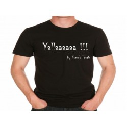 "Tee shirt Homme ""Yallaaaaaa !!!""by Toma's touch série Humoristiques (1151)"