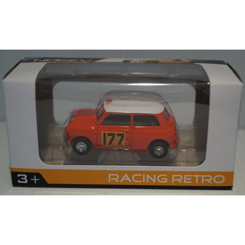 Norev Mini Cooper racing retro 1/54e (1356)