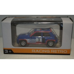 Norev Renault 5 Turbo racing retro 1980 1/54e (1360)