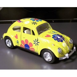 1967 Volkswagen VW Classic Beetle 1/32 métal (1510)