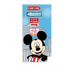 Mickey Mouse Serviette De Bain The City 140 X 70 Cm (1564)