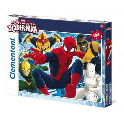 Clementoni : Puzzle 104 pieces Marvel ultimate spider man (1791)