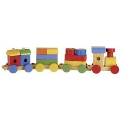 Train en bois 20 pièces (2009)
