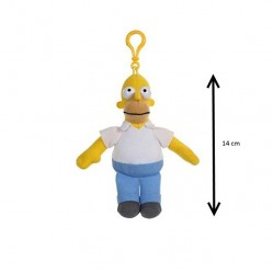 Gipsy: Peluche porte clé Homer simpsons 14 cm (2059)