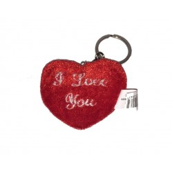 "Porte clé Peluche Coeur "" I Love you"" (2089)"