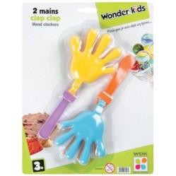 2 mains Clap Clap - Modèle aléatoire (2122)