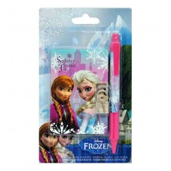 Journal Intime /Carnet secret et stylo la reine des neige Frozen (1991)