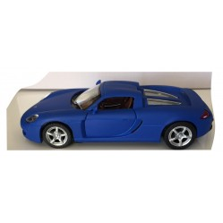 Porsche carrera GT bleue 1/36 eme (2170)