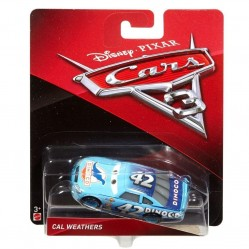 Mattel - Voiture Miniature 1/55- Cars 3 - Cal Weathers (2197)
