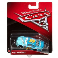 Mattel - Voiture Miniature 1/55- Cars 3 - Buck Bearingly (2185)