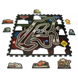 Tapis Puzzle 9 pieces Eva Cars (2207)