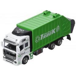 Partner : Vehicule miniature Camion Poubelle 19 cm (2232)