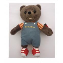 Jemini : Peluche petit ours brun 20 cm (2237)