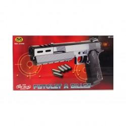 Jouet : Pistolet à billes en plastique 29 cm (2268)