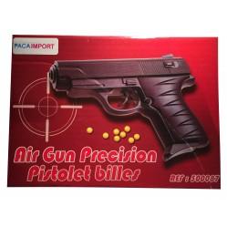 Jouet: Pistolet à billes en plastique 15 cm (2269)