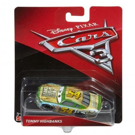 Mattel - Voiture Miniature 1/55- Cars 3 - Tommy Highbanks (2201)