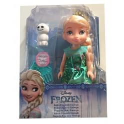 Poupée Elsa la reine des neiges 15 cm et Snowgie (2274)