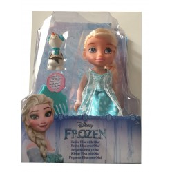 Poupée Elsa la reine des neiges 15 cm et Olaf (2275)