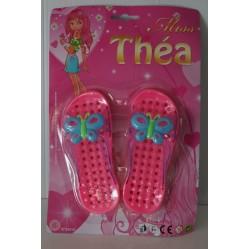 Chaussures de plage Miss Théa 15 cm (1402)