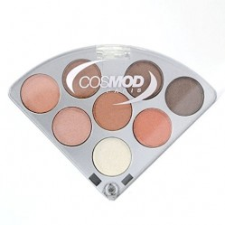 Cosmod Palette Maquillage Eventail - 02 Marron (1907)