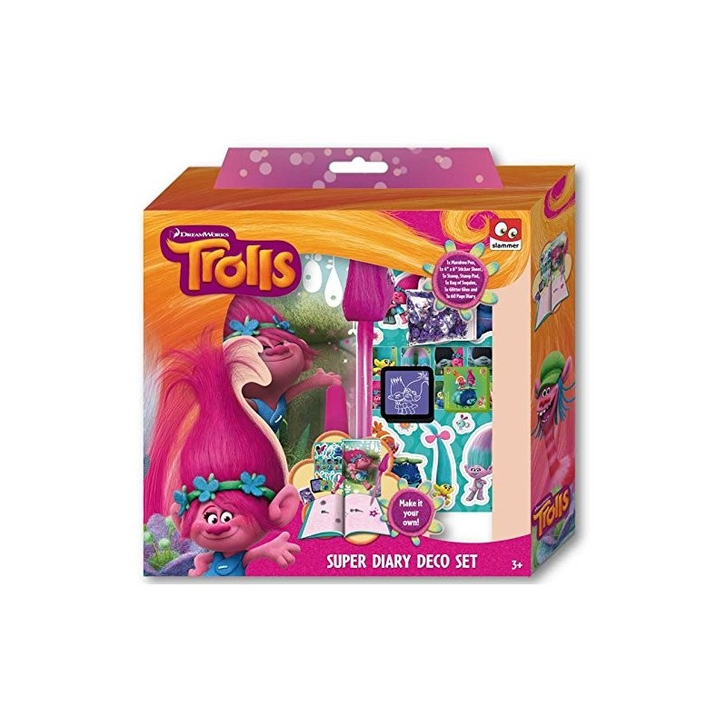 Taldec - Journal intime à personaliser Trolls (2161)
