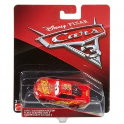 Mattel - Voiture Miniature 1/55- Cars 3 - Flash Mc Queen (2187)