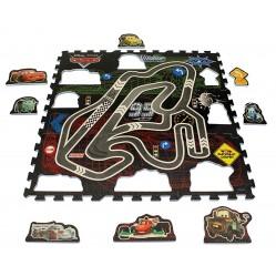 Tapis Puzzle 9 pieces Eva Cars (2207)