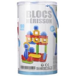 Loisirs Créatifs - Baril 100 Blocs Hérisson  (2208)