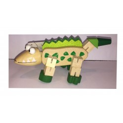 Le Crocodile : Petit Animal articulé en bois (2253)