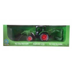 BG International: Tracteur à friction 31 cm de long. Age 3+.