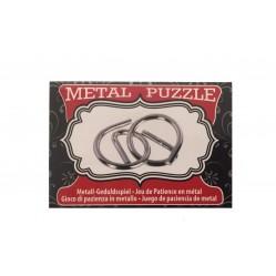 Petit casse tête en metal (2435)