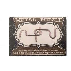 Petit casse tête en metal (2439)