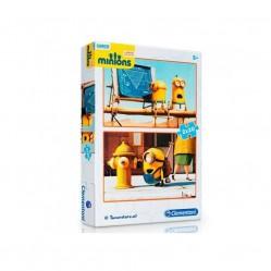 Clementoni - Puzzle  Minions 2 x 20 Pièces (2445)