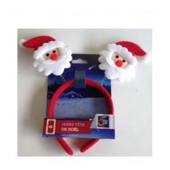 Serre tête de noêl enfant : les Pères Noël (2448)