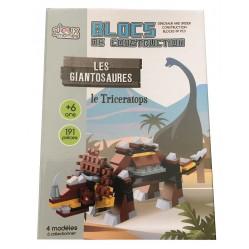 Jeu creatif: Blocs de construction Le triceratops (2467)