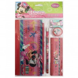 Set papeterie minnie Mouse (5 articles dont une trousse) (2486)