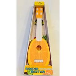 Jouet : Guitare ukulélé fruit 4 cordes (2503)