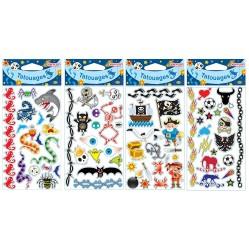 COFALU Kim Play Tatouages Multicolore pour garcons (2584)