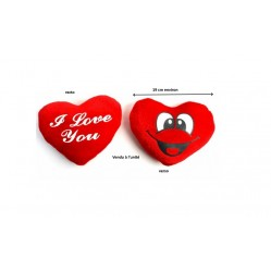 "Peluche Coeur visage ""I love You"" 19 cm (2519)"