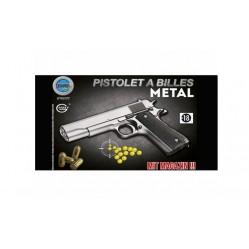 Pistolet métal à bille 22...