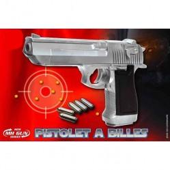MH Pistolet plastique à bille 20 cm