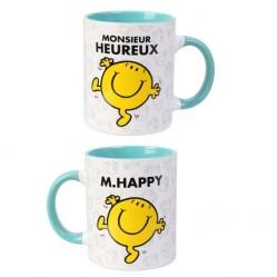 Mug tasse Monsieur Madame: Monsieur Heureux  (2578)