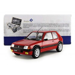 Solido 1:18 Peugeot 205 GTI 1985 Voiture Miniature de Collection (2593)