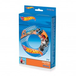 Bouée gonflable - Hot Wheels : 56 cm (2599)