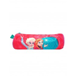 Trousse La reine des neiges Anna et Elsa 21 x 7,5 cm  (2623)
