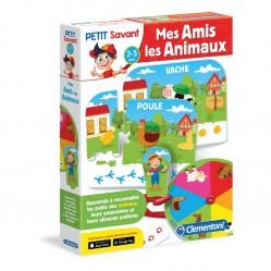 Clementoni - Jeu éducatif Mes amis les animaux (2625)