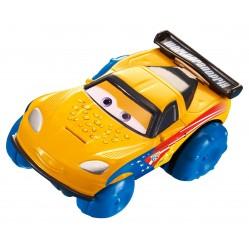 Mattel – Cars – Hydro Wheels Jeff Gorvette – Véhicule Nageur 8 cm (2648)