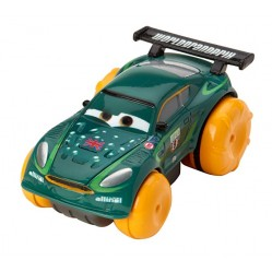Mattel – Cars – Hydro Wheels Nigel Gearsley – Véhicule Nageur 8 cm (2649)