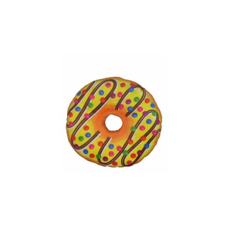 Très jolie peluche donuts 20 cm (2523) (jaune)