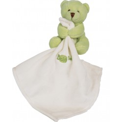 Peluche Doudou Ourson calin Baby nat' (2652)